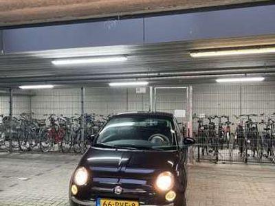 tweedehands Fiat 500 5001.2 Lounge Automaat! Pano Zwart Airco Blu