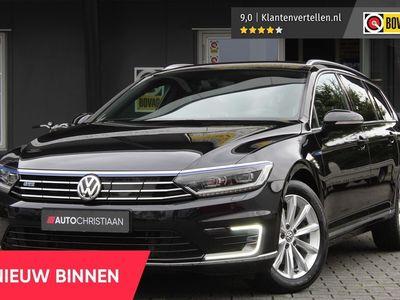 tweedehands VW Passat Variant 1.4 TSI GTE Highline 225PK PHEV EX BTW   Achteruitrijcamera   Adaptieve Cruise   Bluetooth   Climate Control   LED koplampen   Navigatie   Voorstoelen verwarmd   Rijk uitgerust!