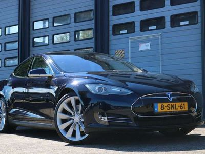 tweedehands Tesla Model S P85 422PK Performance Panodak Freesupercharge Stoelverw v+a Camera 133000KM