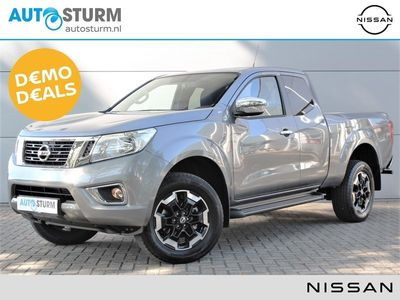 tweedehands Nissan King NAVARA 2.3 dCi 165pk N-ConnectaCab 4WD | Navigatie | Camera | Trekhaak | Cruise & Climate Control | DAB | Keyless Entry | 18'' Velgen | Bluetooth Tel. | Ex. Rijklaarprijs!