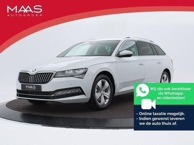 "tweedehands Skoda Superb Combi 1.5TSI 150PK DSG Business Edition | Privacyglass | Climate control | Stoelverw. | Full Map Navi | 17"" I Fiscale waarde €35.454,-! 