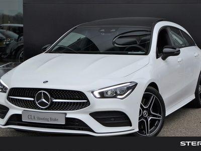 tweedehands Mercedes CLA220 Shooting Brake CLA-klasse Automaat AMG Line | Advantage | Night