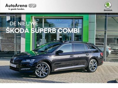 tweedehands Skoda Superb Combi 1.5 TSI ACT 150 pk Sportline Business DSG-automaat | full options | fiscale korting 2.000 euro