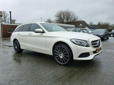 tweedehands Mercedes E350 C-KLASSE EstateLease Edition (EXCL-BTW) AUT. *NAVI+LEDER+DISTRONIC+MULTIBEAM+KEYLESS+360-CAMERA+BURMESTER+MEMORY-SEATS+ECC+PDC*