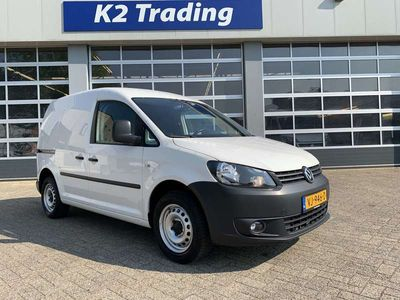 tweedehands VW Caddy 2.0 CNG Airco cruise Inrichting laadvloer