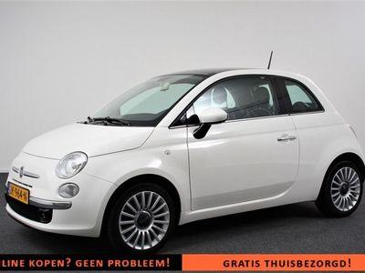 """tweedehands Fiat 500 1.2 Lounge Digitaal Dashboard   Climate Control   16""""lichtmetalen Velgen   Parkeersensoren   Panoramadak"""