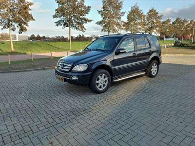 tweedehands Mercedes ML270 CDI Grijs kenteken Nw apk
