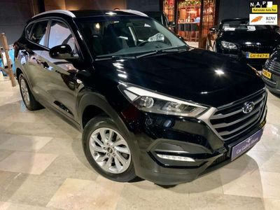 tweedehands Hyundai Tucson 1.6 T-GDi Comfort De Luxe Navigatie Airco PDC Acht