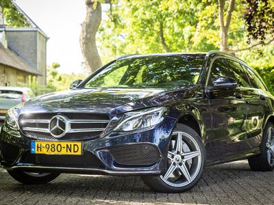 tweedehands Mercedes 400 C-Klasse Estate4MATIC Premium Plus Burmester Panorama Comand