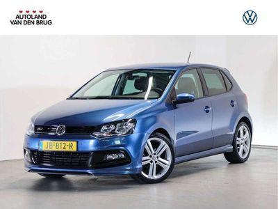 tweedehands VW Polo R-Line 1.2 TSI 90 PK | Navigatie | Climate control | 17 Inch Licht metalen velgen |