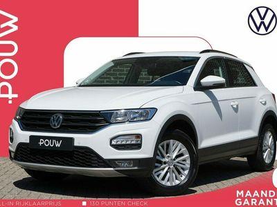 tweedehands VW T-Roc 1.5 TSI 150pk Style + App Connect Navigatie + Adaptive Cruise Control