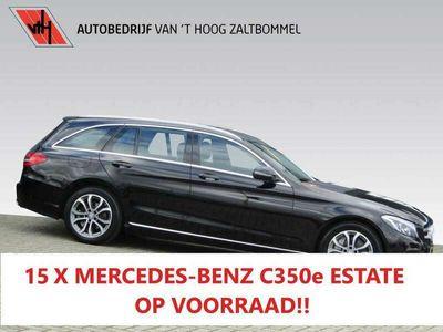 tweedehands Mercedes C350 Estate 350e Avantgarde EXCL BTW NAVI CAMERA