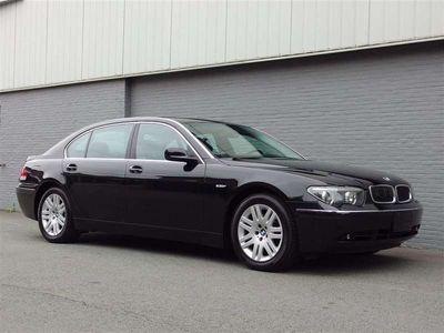 tweedehands BMW 745L 745 i 2002 Nieuw conditie + Veel documentatie