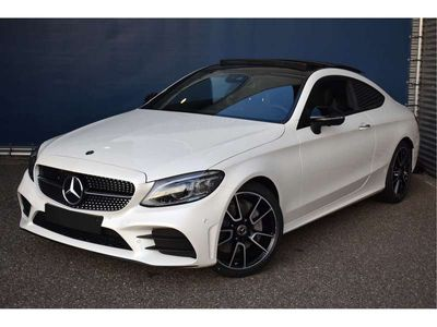 tweedehands Mercedes 300 C-Klasse CoupéSport Edition AMG | Nightpakket | Panoramadak | 360° camera | Memory Stoelen Verwarmd | Keyless-Go