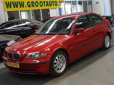 tweedehands BMW 316 Compact 3-SERIE Compact ti Airco, Stuurbekrachtiging, NAP, Cruise Control