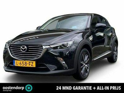 tweedehands Mazda CX-3 2.0 SkyActiv-G 150 GT-M 4WD | Showroom geopend | 24 Mnd. garantie | Navigatie | Cruise Control | Automaat | Stoelverwarming | 150PK 4WD | Rijklaar ! |