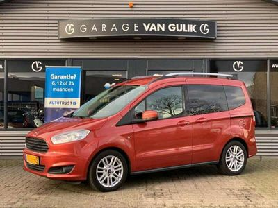 tweedehands Ford Tourneo Courier 1.0 EcoBoost 101PK 5Pers,Titanium,Navi,Cruise,Usb,