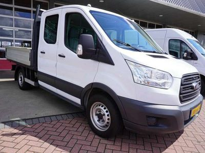 tweedehands Ford Transit 310M 2.2 TDCI 101PK L2H1 Pick-up Dubbelcabine Airc