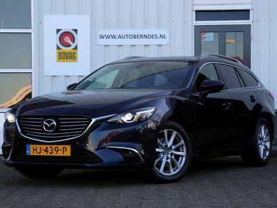 tweedehands Mazda 6 Sportbreak 2.2D SkyActiv-D 150 Skylease GT*Facelift*NL-Auto*Perfect Onderh.*Navi/Leder/Keyless Enry+go/Bi-Xenon/Memorie/LED/VOL*