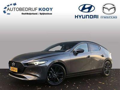 """tweedehands Mazda 3 2.0 180PK Luxury /Leder/18"""" zwart"""