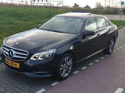 tweedehands Mercedes E200 E200 Bleutec Avantgarde Zwart