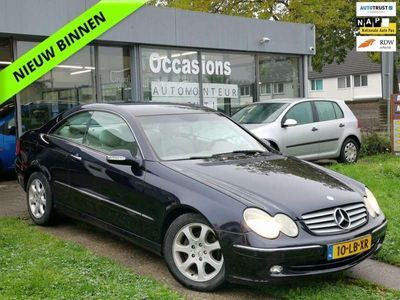 tweedehands Mercedes CLK200 Coupé K. Elegance AIRCO|NAVI|AUT|CRUISE|APK|NAP