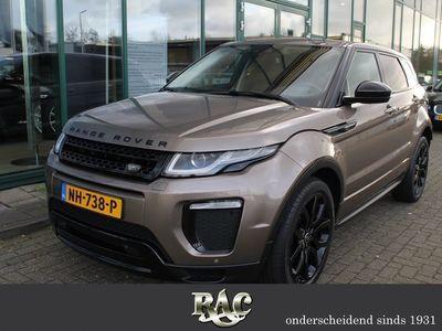 tweedehands Land Rover Range Rover evoque 2.0 TD4 SE Dynamic - Black Pack - MJ'16