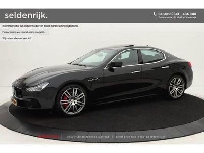 "tweedehands Maserati Ghibli 3.0 S 333 | Carbon | Volleder | 20"" | Schuifdak |"