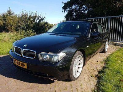 tweedehands BMW 745 i V8 Executive Zwart Trekhaak Stoelverkoeling
