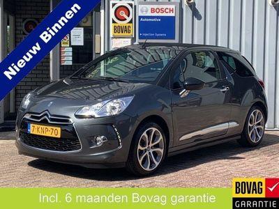 tweedehands Citroën DS3 Cabriolet 1.2 VTi Chic Incl 6 maand Bovag Garantie