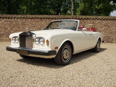 tweedehands Rolls Royce Corniche Series 2 matching numbers very original condition