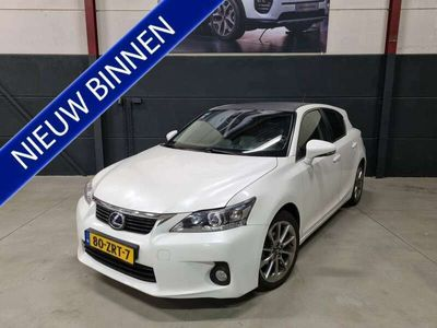 tweedehands Lexus CT200h Business Style Climatecontrol Leder Navigatie Came