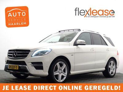 tweedehands Mercedes 350 M-KLASSEBlueTEC Premium AMG Edition 259pk Aut- Pano, Leer, Full
