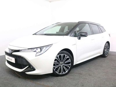 tweedehands Toyota Corolla Touring Sports 1.8 Hybrid Executive Bi Tone Limited Stuurverwarming Head Up Display Smart Key