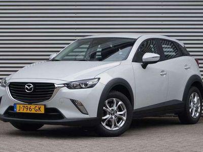 tweedehands Mazda CX-3 SkyActiv-G 2.0 120 TS, Navi, Parelmoer.