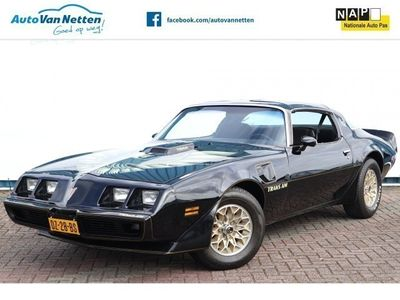 tweedehands Pontiac Firebird TRANS AM 6.6 V8 Big Block 400cu, WS6, originele NL Auto! T-top,Tilt Steer,Elek p