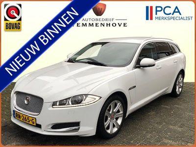 tweedehands Jaguar XF Sportbrake -SERIE 2.2D S Premium Business Edition 200PK Leer/airco-ecc/alu Wielen/navigatie/Enz.