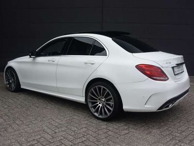 tweedehands Mercedes C220 CDI AMG PANO XENON LED