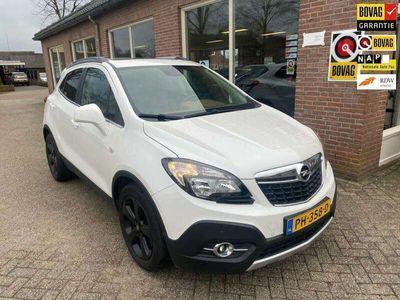 tweedehands Opel Mokka 1.4 T Cosmo leder/zonnedak/trekhaak