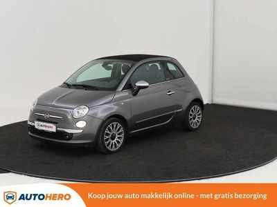 tweedehands Fiat 500C 0.9 Lounge 85PK AY16576 | Climate Control | Parkee