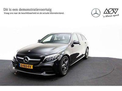 tweedehands Mercedes C160 Estate Business Solution AMG LED-koplampen, Stoelv