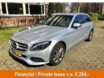 tweedehands Mercedes C180 Estate Lease Edition Automaat, Half Led, Navi, Xen