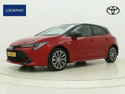 tweedehands Toyota Corolla 2.0 184 PK Hybrid Style Bi-Tone Limited | Dodehoek-Detectie | Stuur & Stoel Verwarming |