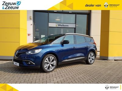 tweedehands Renault Grand Scénic 140pk TCe Intens €5000,- registratie korting bij Zeeuw & Zeeuw Delft!