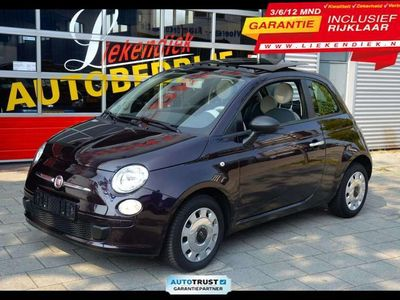 tweedehands Fiat 500 1.2 Lounge - Panorama-dak/ open Dak I Dealer onderhouden I N