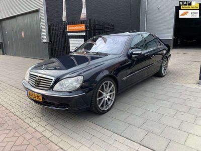 tweedehands Mercedes S600 V12 Biturbo Lang Trekhaak Designo NAP APK 1 Jaar
