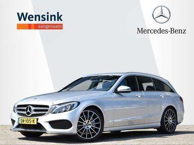 tweedehands Mercedes C180 Estate AMG-Line | Dodehoekassistent | 19'' AMG | E