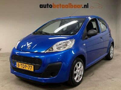 tweedehands Peugeot 107 1.0 ACCESS ACCENT 5-DEURS AIRCO LAGE KM-STAND