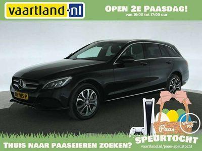 tweedehands Mercedes C350 Estate 350e Avantgarde Aut. [ Navi Leder Burmester