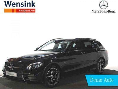tweedehands Mercedes E300 C-Klasse EstateBusiness Solution AMG Limited | Trekhaak wegklapbaar | Sfeerverlichting | 360° camera